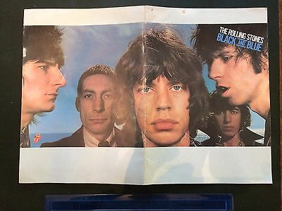 Rolling Stones Black and Blue Official Programme European Tour 1976