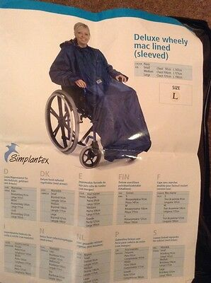wheelchair mac .... BNWT .... Excellent Quality