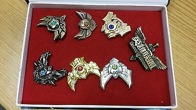 League of Legends Badges Pins 7 pcs Collection New In Box