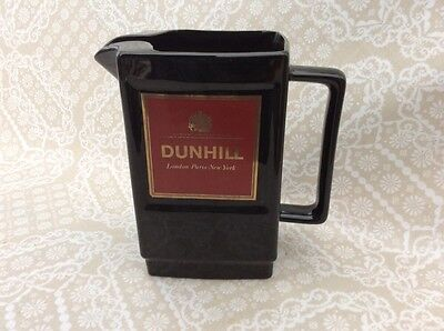 Dunhill Cigarettes Pub Whisky Water Jug Vintage 1970's Bar Advertising