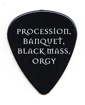 Cradle Of Filth Hammer Of The Witches Yours Immortally Lyrics Guitar Pick - 2016
