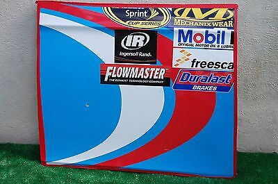 Aric Almirola #43 SMITHFIELD NASCAR RACE USED Contingency Panel Sheet Metal