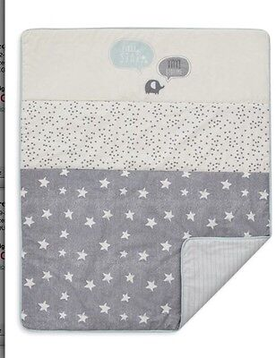 Next LITTLE STAR Babies Cot Coverlet Natural Boutique Nursery Bedding Bed