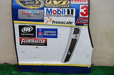 AJ Allmendinger #47 BUSCH'S BEST NASCAR RACE USED Contingency Panel Sheet Metal