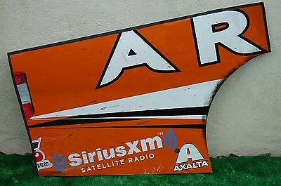 Daniel Suarez #51 AARIS NASCAR RACE USED Rear Qtr Panel Sheet Metal