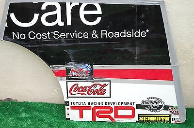 Bubba Wallace #54 Toyota Care NASCAR RACE USED Rear Qtr Panel Sheet Metal
