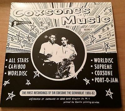 Coxsone Music Studio 2LP Record A Mint Ska FREE UK P&P