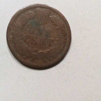 Usa.1879. One Cent. Good Condition.see Pictures