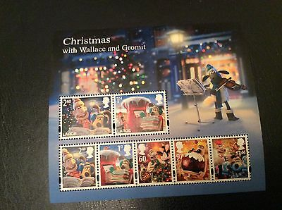 Gb Stamps Mini Sheets Mint Unmounted Xmas Wallace And Grommit