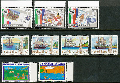 Norfolk Island, Small lot of 30 MNH Stamps. Please see the scans