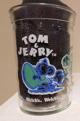 Tom & Jerry  1991 Turner Entertainment Welch's Jar / Glass