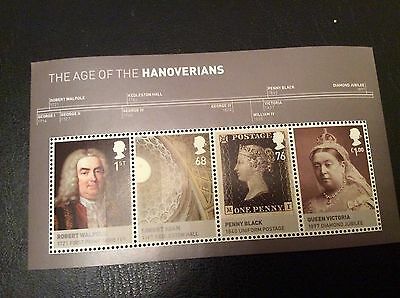 Gb Stamps Mini Sheets Mint Unmounted The Age Of Hanovians