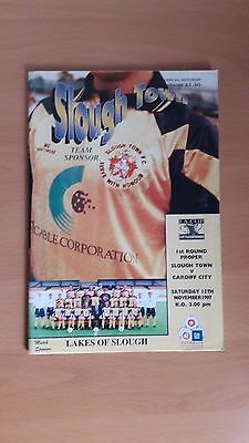 1997 Slough Town V Cardiff City