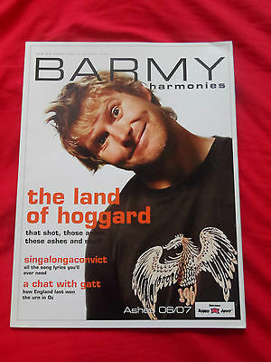 Barmy Harmonies. Barmy Army Guide To The 2006/2007 Ashes Cricket. Songs. Mint.
