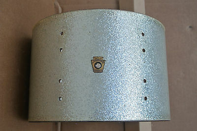 """1960's LUDWIG 12"""" RACK TOM SHELL in SILVER SPARKLE for YOUR DRUM SET! LOT #C832"""