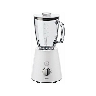Braun Domestic Home JB 3060 WHS Weiss-Silber Standmixer Glas-Mixbehälter 800 W