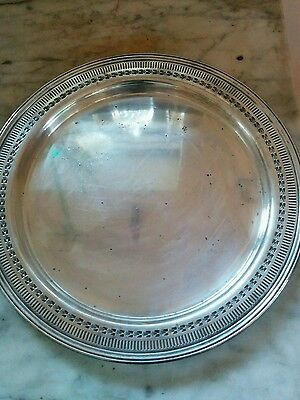 vintage kingsway electroplate silver tray/plate
