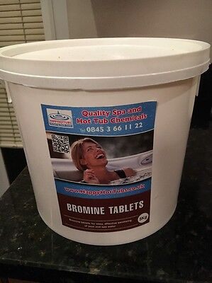 Bromine Tablets 5kg Swimming Pool and Spa Chemicals