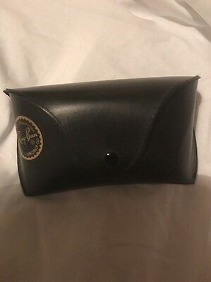 Ray-ban sunglasses case Black Genuine Ray Ban Case