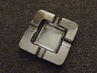 Ashtray Super Deco Quality By Goldsmiths & Silversmiths  London  See Photos