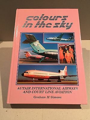 Autair & Courtline Book - Colours In The Sky Tristar Bac 1-11 Graham Simons