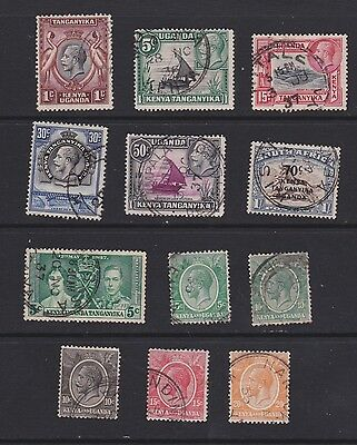 Stamps KUT early used