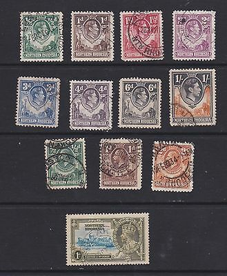 Stamps Northern Rhodesia early used selection