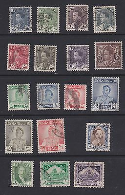 Stamps Iraq early used selection
