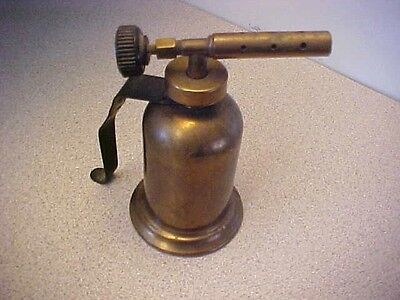Vintage Small Size Brass Blow Torch