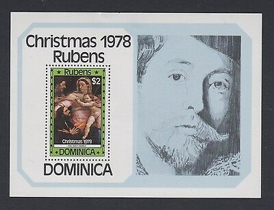 Stamps Dominica 1978 MNH minisheet Christmas