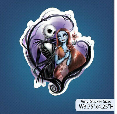 Nightmare Before Christmas / Jack and Sally / Version A / Decal / Sticker