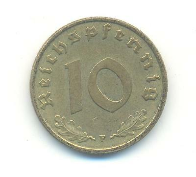 Nice Rare.germany.10.reichspfennig.1937.mint.f.unc.very Collectable.w.69