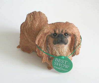 Country Artists Pekingese Dog Figurine BEST IN SHOW