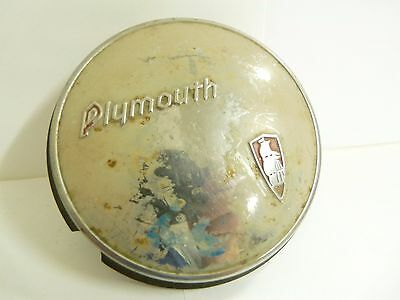 1939 Plymouth Mayflower Horn Button, Used