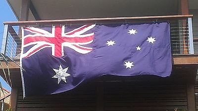 Appliqued Fully Sewn Australian Flag, Aust Made,Support Aust Jobs, +50% Discount