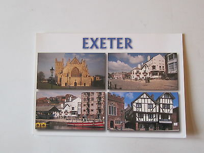 Exeter, Norman Cathedral Atmosphere Postcards