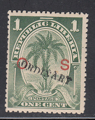 Liberia # 65 1901-02 ORDINARY Overprint MINT