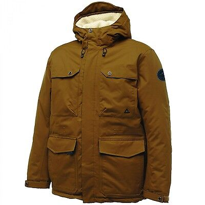 Dare2b Gallant Mens Waterproof Breathable Insulated Jacket Brown Size XXL