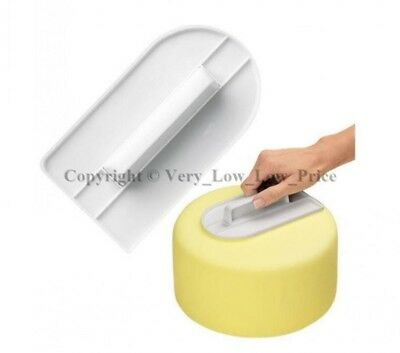 NEW Straight Edge Smoother Polisher Sugarcraft Equipment Tool Fondant Icing Cake
