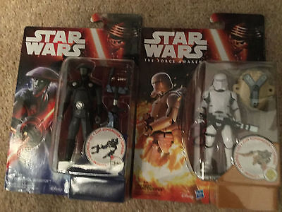 Star Wars Force Awakens Tfa Moc New - Fifth Brother+First Order Flametrooper