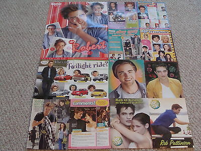 Robert Pattinson Great New Set Of Posters & Clippings  #1 & Free Gift