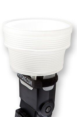 GARY FONG LIGHTSPHERE COLLAPSIBLE FLASH DIFFUSER with SPEED MOUNT LSC-SM MOST