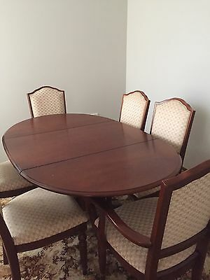 VINTAGE Parker - Dinning Table (drop Sides) And 6 Chairs