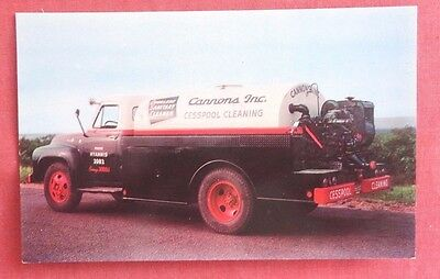 Cannons Inc. Cesspool  Cleaning Truck West Yarmouth Mass.Truck