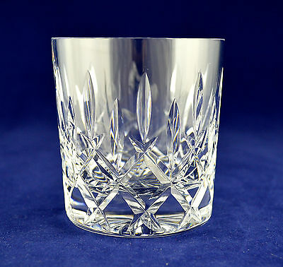 "Stuart Crystal ""WELLINGTON"" Whiskey Glass - 9cms (3-1/2"") tall"