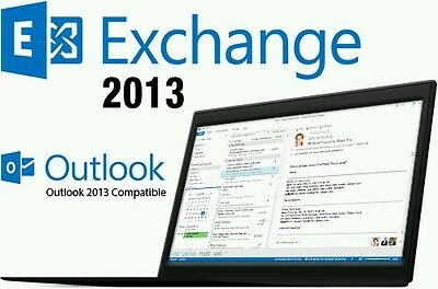 Microsoft Exchange Server 2013 Standard with 5 CALs | Full Retail | Original USB