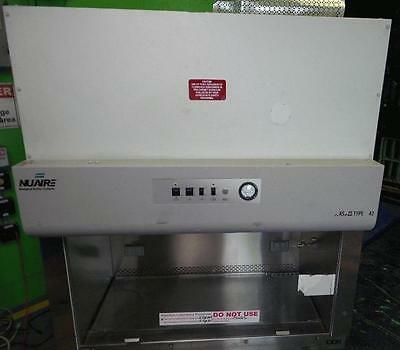 Nuaire NU-425-400 Biological Safety Cabinet Class II Type A/B3