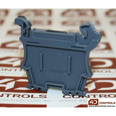Legrand 37510 END STOP - AUTOMATIC 6 MM PITCH - SCREWLESS MOUNTING (QTY:5) - ...