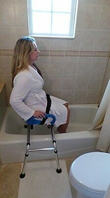 Sliding Transfer Bench Bath Shower Chair Bathroom Aid Painful Mobility Challenge