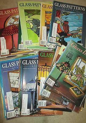 Stained GLASS PATTERNS Quarterly Magazine 22 Issues 2000-2005